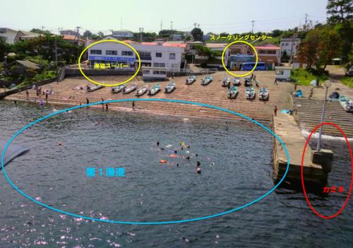 初島シュノーケリング2