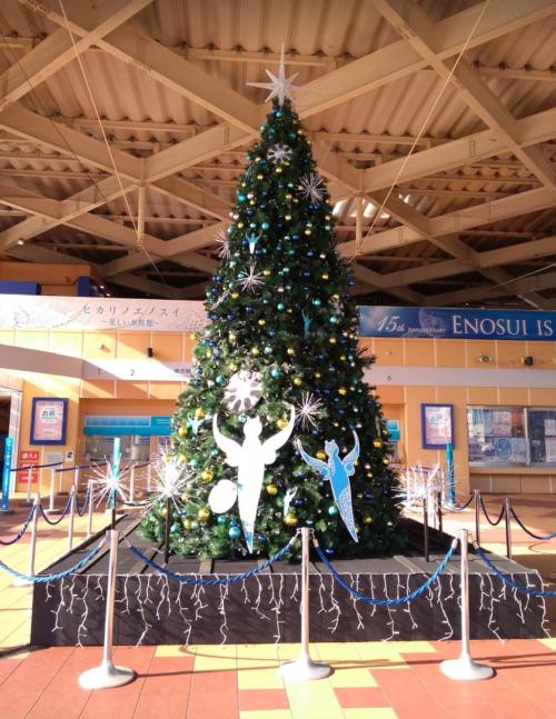 えのすいクリスマスツリー2