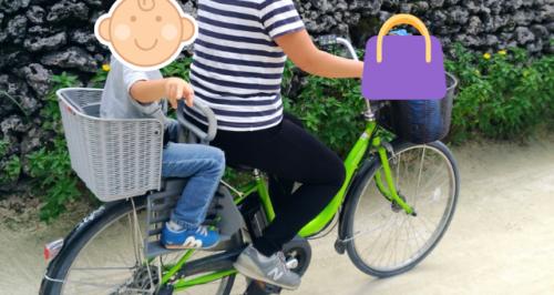 竹富島レンタル自転車子供