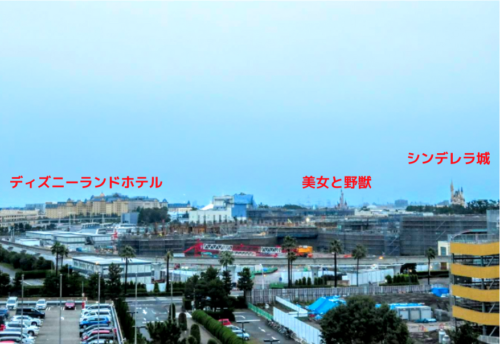 ヒルトン東京ベイパーク側 眺め1