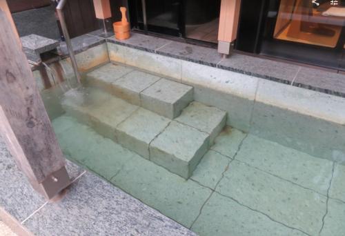 天悠103の芦ノ湖の露天風呂