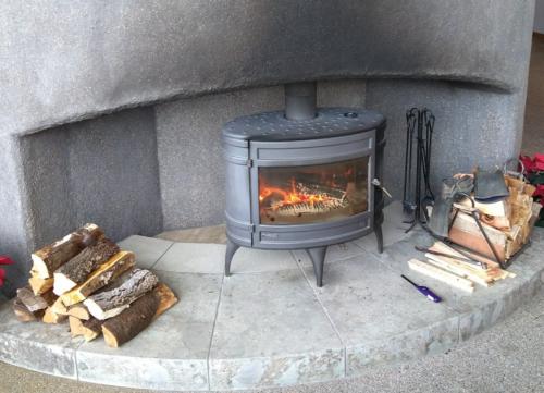 強羅白檀の暖炉