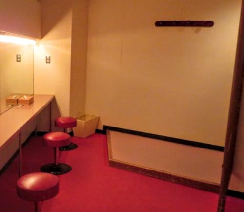 奥志賀高原ホテル更衣室2